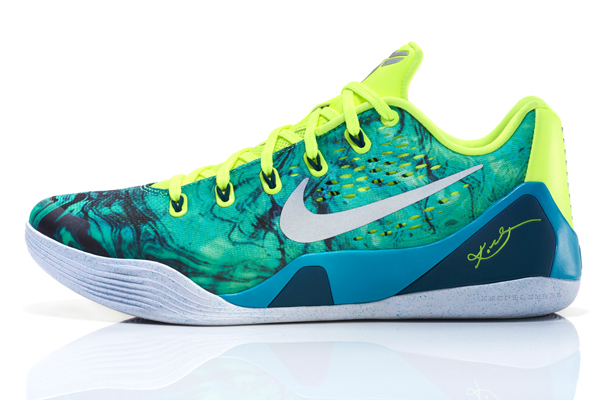 Nike's Kobe 9 Easter Collection sneakers for Lakers guard Kobe Bryant. (Nike)