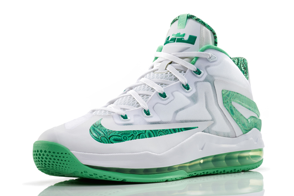 Nike's LeBron 11 Easter Collection sneakers for Heat forward LeBron James. (Nike)