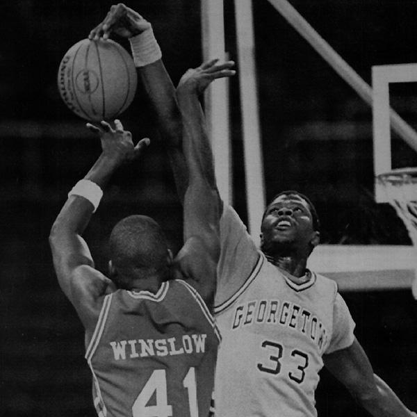 Patrick Ewing, Georgetown (1981-1985).