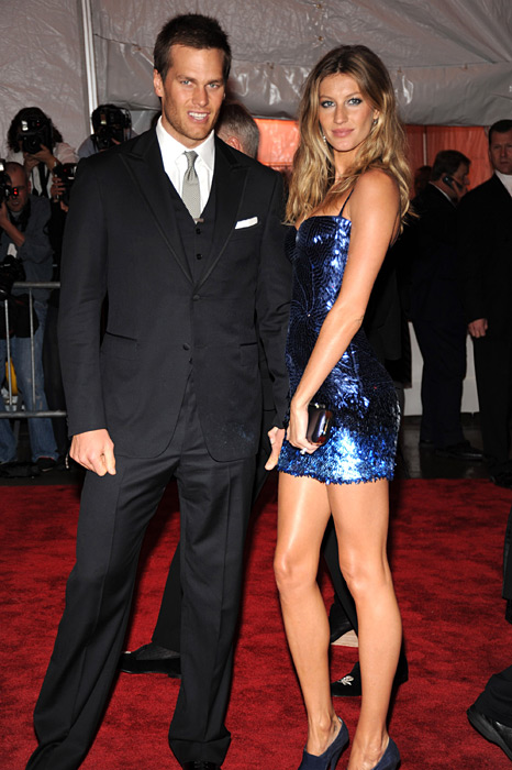 Tom Brady and Gisele Bundchen :: Getty Images