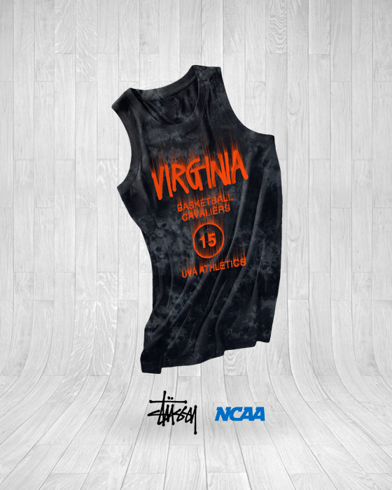 This Stussy inspired Virginia jersey earns plenty of style points