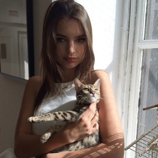 @emrata: Happy Easter! From me and Tarzan