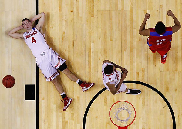 Ohio State (eliminated by Dayton, 60-59) :: Jared Wickerham/Getty Images