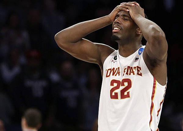 Iowa State (eliminated by UConn, 81-76) :: AP