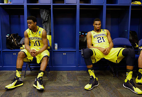 Michigan (eliminated by Kentucky, 75-72) ::