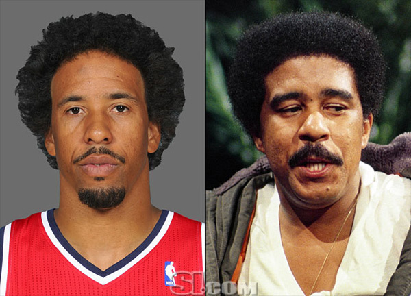 Andre Miller and                                Richard Pryor :: Getty Images