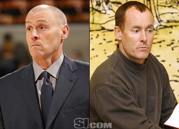 Rick Carlisle and                             John C. McGinley :: Getty Images