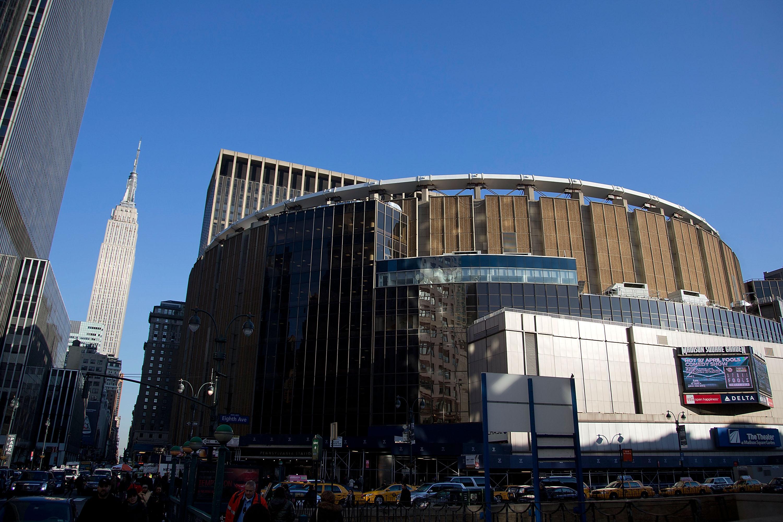 Madison Square Garden's exterior.