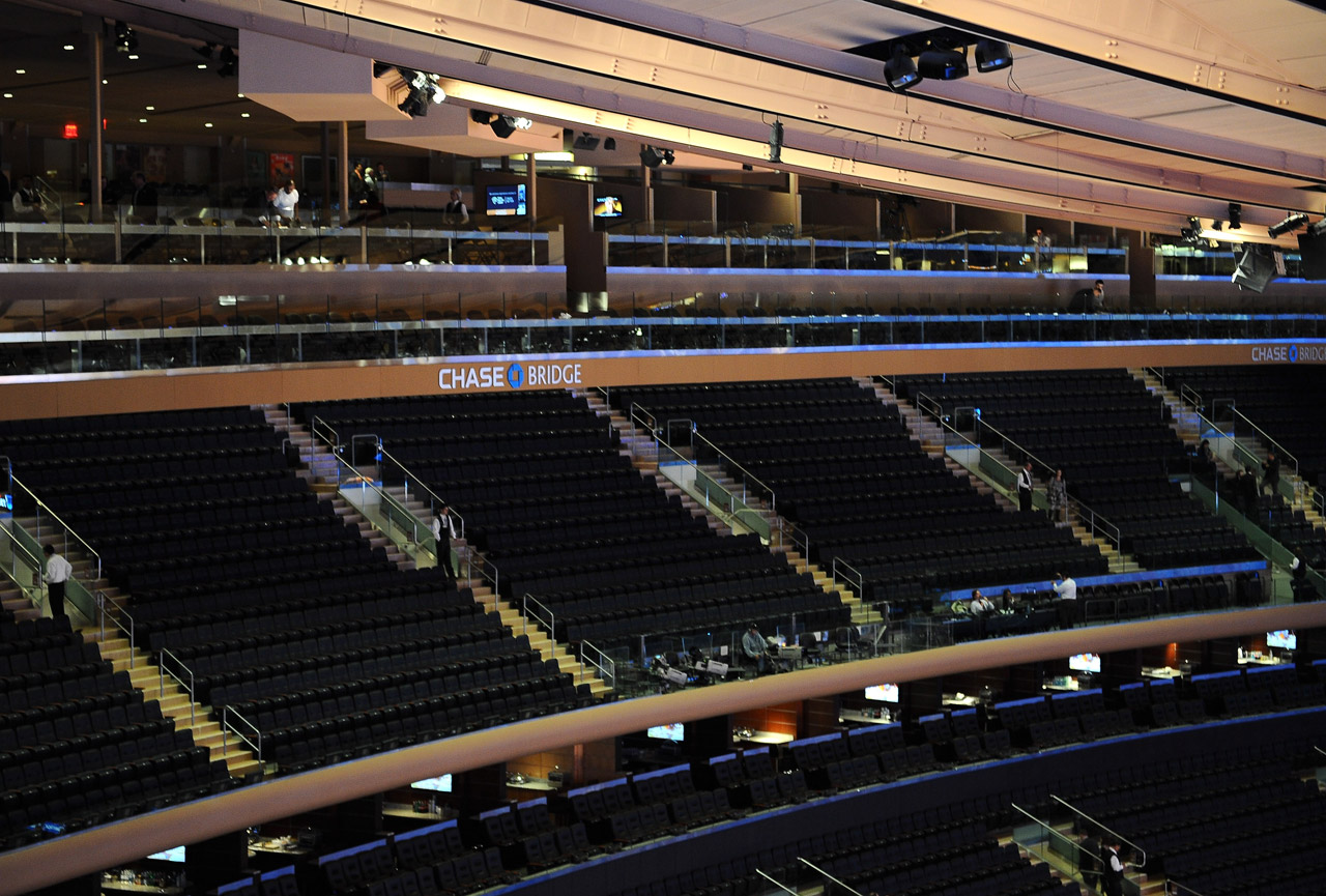 Renovations updated Madison Square Garden's seating bowls.