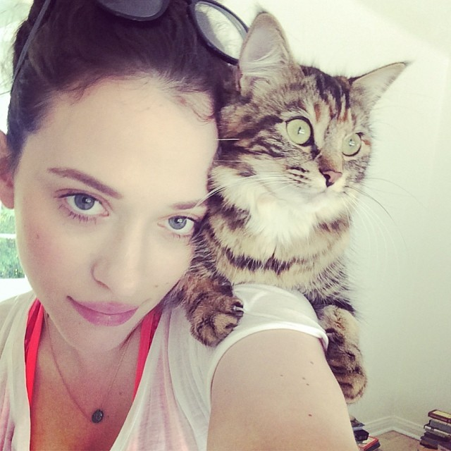 Kat Dennings :: @katdenningsss/Instagram