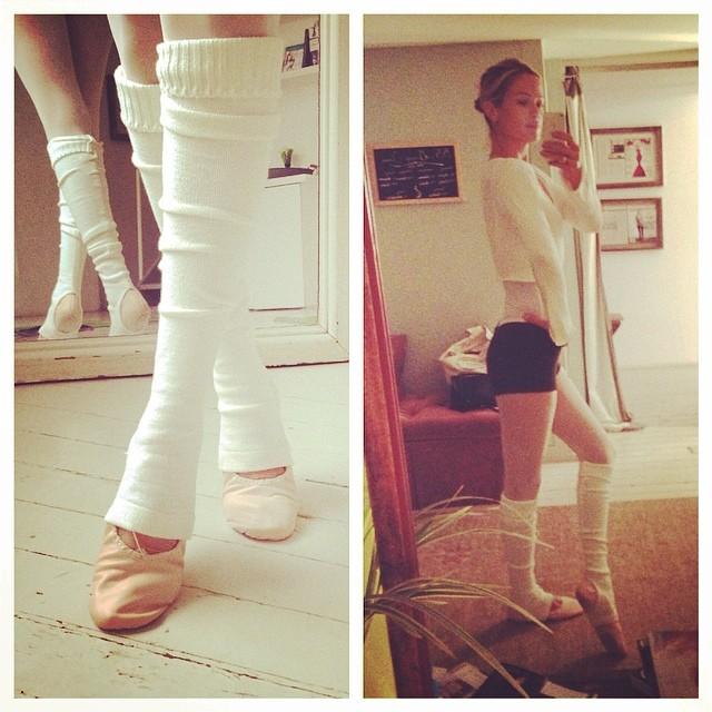 @carolynmurphy: My most favorite workout. Ever. @balletbeautiful