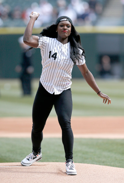 Aja Evans (White Sox) :: AP