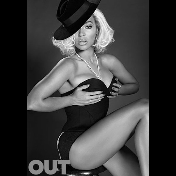 Beyonce :: Santiago & Mauricio for OUT Magazine