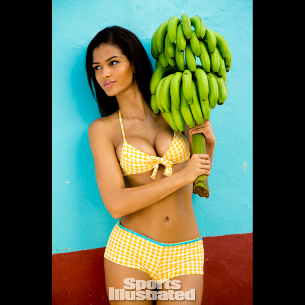 Cris Urena in St. Lucia :: Walter Iooss Jr./SI