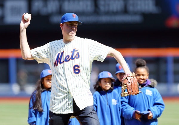 Bill de Blasio (Mets) :: Getty Images