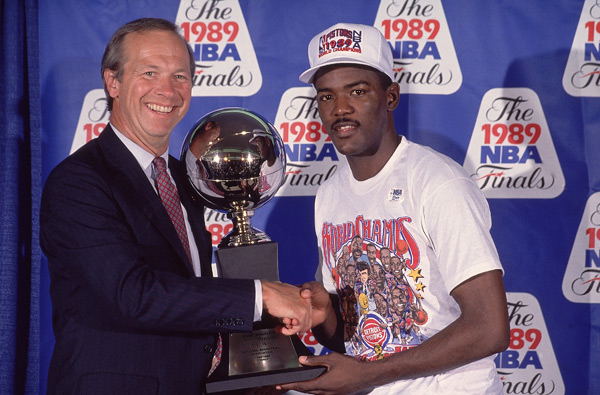 Joe Dumars :: Richard Mackson/SI
