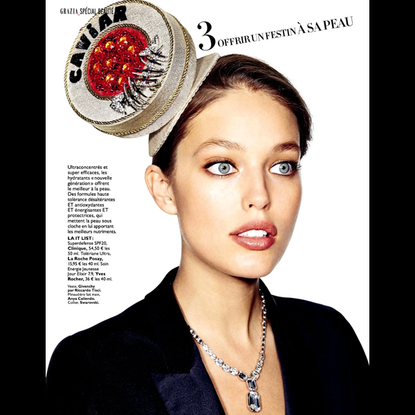Emily DiDonato :: James Macari for Grazia France