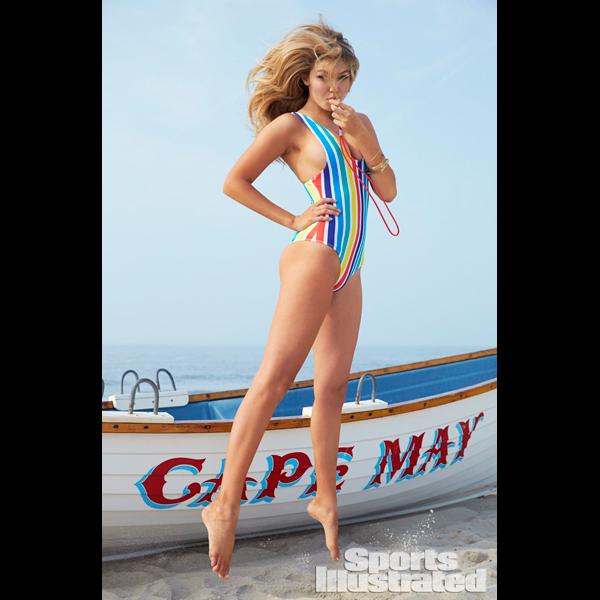 Gigi Hadid :: Ben Watts/SI