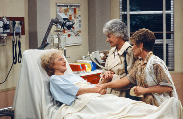 Betty White, Bea Arthur and Rue McClanahan :: Getty Images