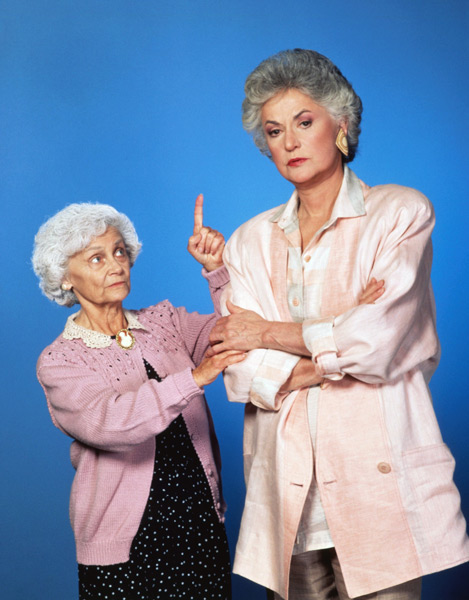 Estelle Getty and Bea Arthur :: Getty Images