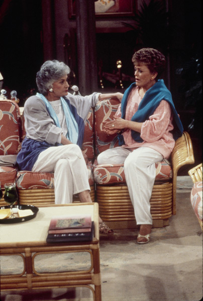 Bea Arthur and Rue McClanahan :: Getty Images