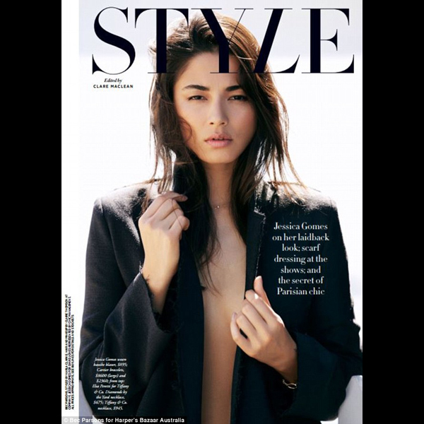 Jessica Gomes :: Bec Parsons for Harper's Bazaar Australia