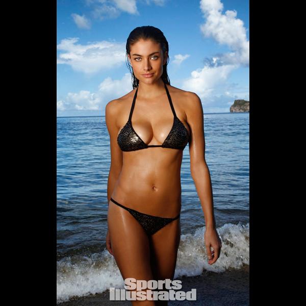 Lauren Mellor in St. Lucia :: Walter Iooss Jr./SI