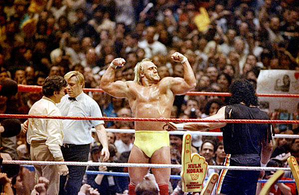 Hulk Hogan, WrestleMania 1 :: AP