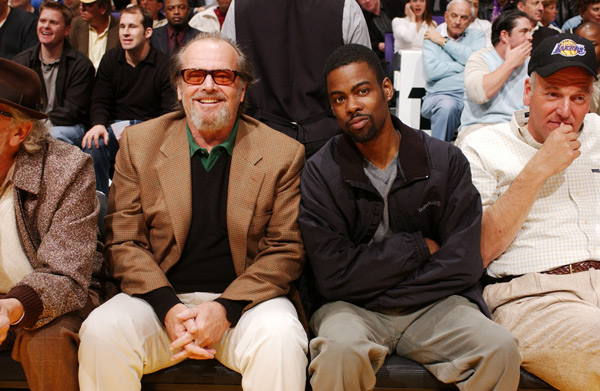 Jack Nicholson and Chris Rock :: Getty Images