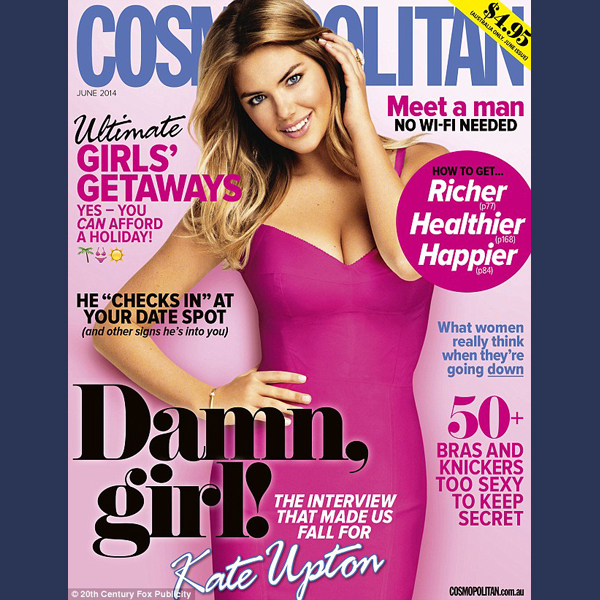 Kate Upton for Australian Cosmo