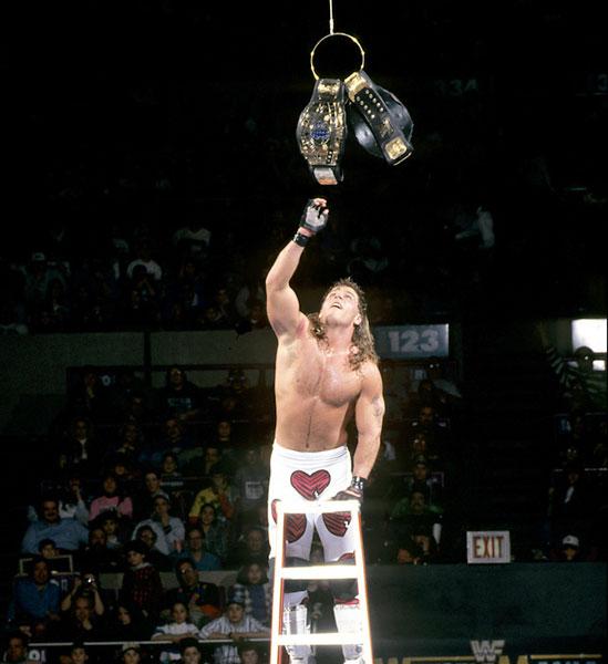 Shawn Michaels, WrestleMania 10 :: Courtesy of WWE