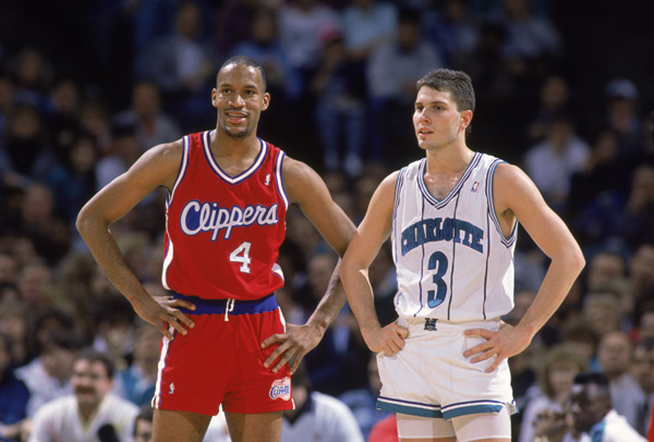 Ron Harper and Rex Champman (1990) :: Jim Gund/NBAE/Getty Images