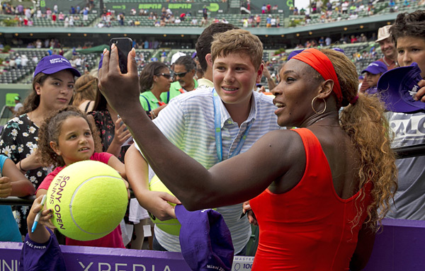 Serena Williams :: Getty Images