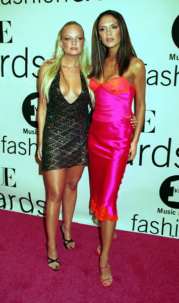 Baby Spice and Posh Spice :: Getty Images