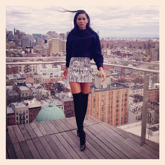 @chaneliman: For the love of New York, off duty and ready to go !