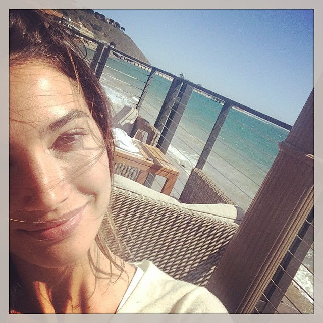 @lilyaldridge: My beautiful view for lunch!!!!