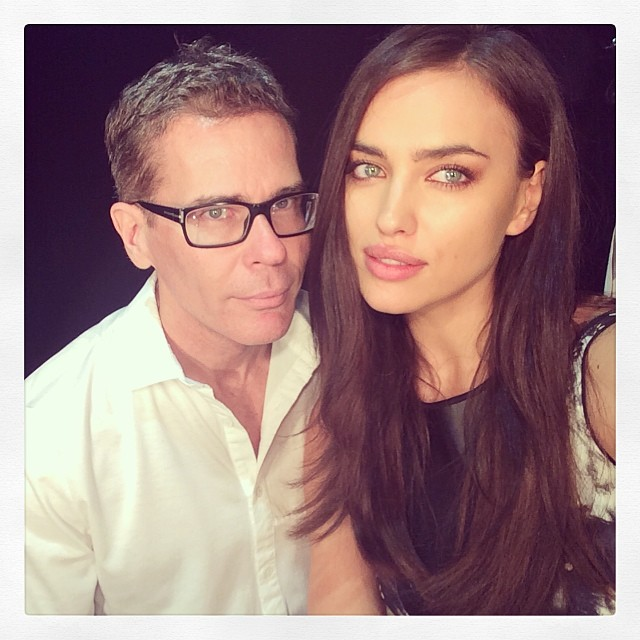 @irinashayk: Ready for the @tritonoficial So excited! With @jamesbreesenyc #spfw