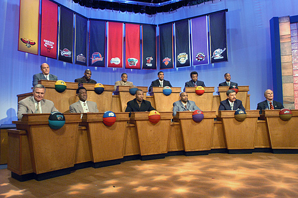 2003 NBA Draft Lottery :: Getty Images