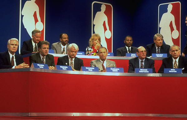 1993 NBA Draft Lottery :: John Iacono/SI
