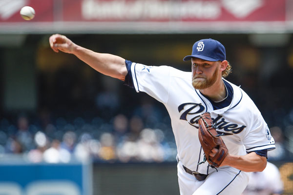 One problem with beard maintenance -- absorbency. Just ask Andrew Cashner, who attempted to dry his wet beard on May 13. When a beard like that gets wet, it can add 20 or 30 pounds to a player's frame.