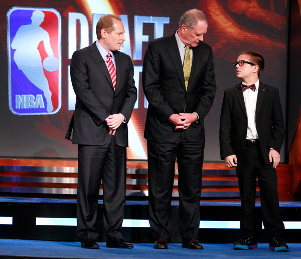 David Kahn, Kevin O'Connor and Nick Gilbert 2011 :: AP