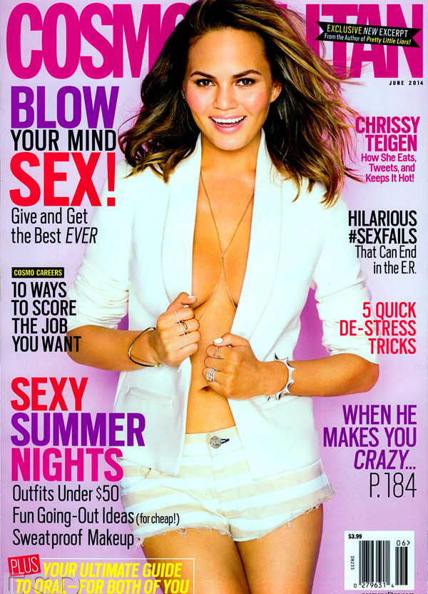 Chrissy Teigen :: Eric Ray Davidson for Cosmo, June 2014