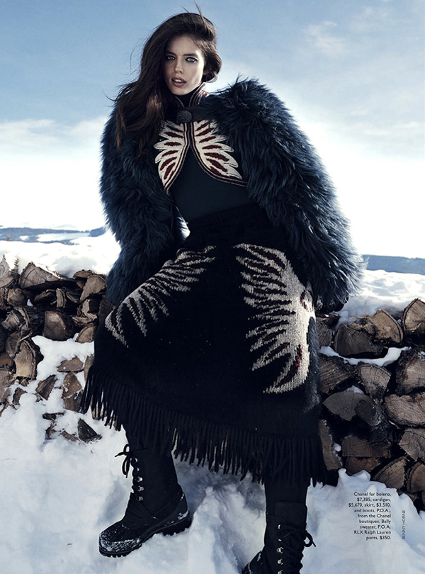 Benny Horne for Vogue Australia, June 2014