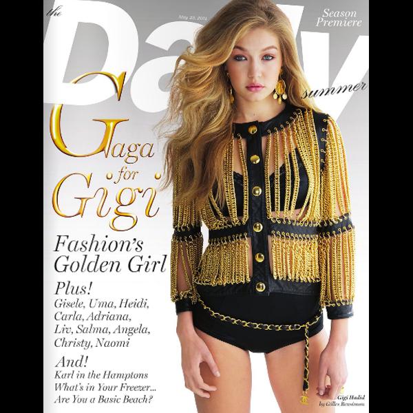 Gigi Hadid :: Gilles Bensimon for Daily Front Row