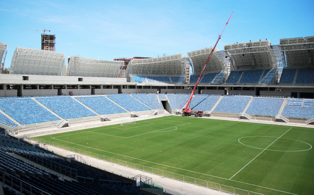 Estadio das Dunas (photo courtesy Brazilian Federal Government).