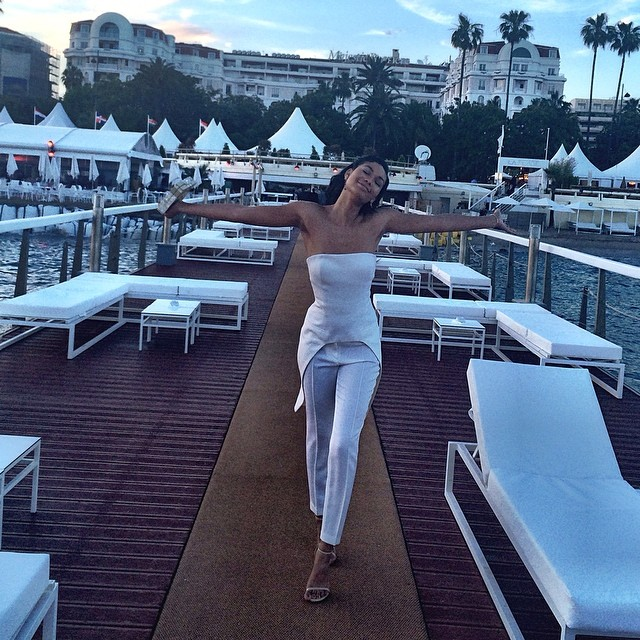 @chaneliman is the embodiment of the Cannes experience (or what I imagine it's like)