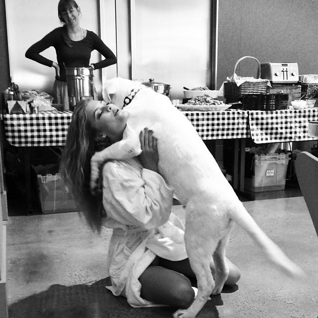 @ninaagdal misses her pup