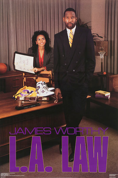 James Worthy :: Courtesy of the Costacos Brothers