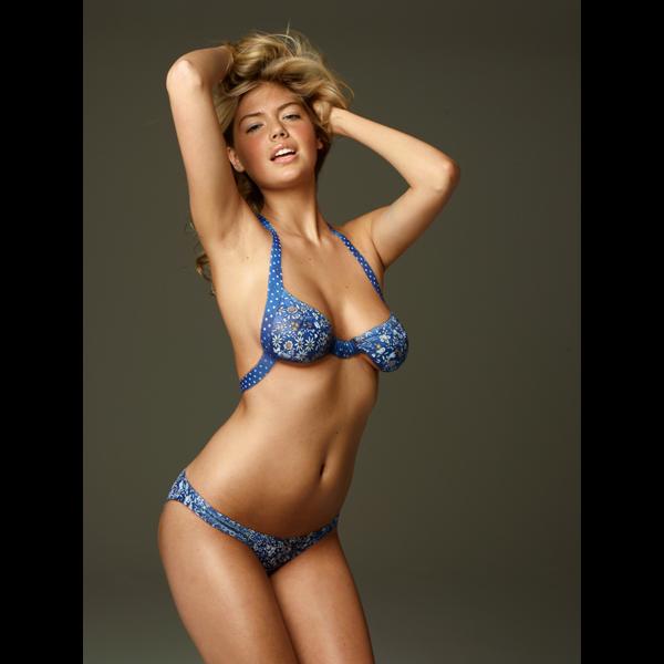Kate Upton :: Stewart Shining/SI; Joanne Gair (body painting)