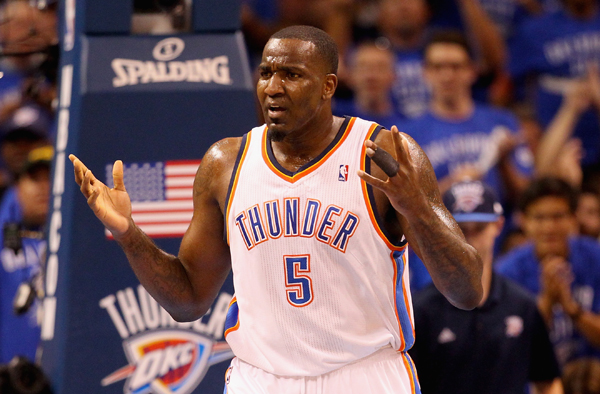 Kendrick Perkins :: Getty Images